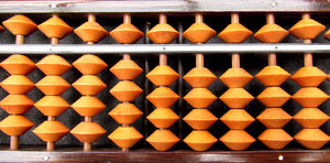 small abacus: small abacus or soroban