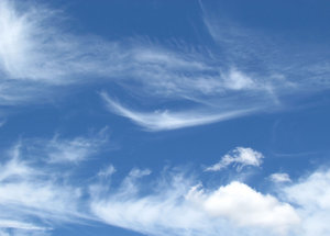 high design - clouds2: fine light thin streaky cloud formations