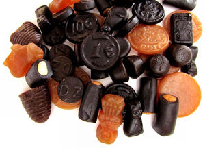 licorice variety1: variety of licorice sweets