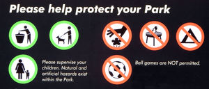 park protection1: do's and don't's in park enjoyment