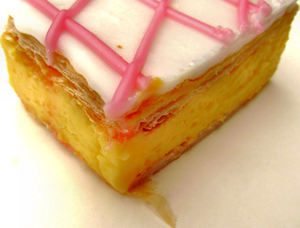 vanilla slice2b: popular custard cake/sweet