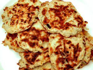 potato rostis2: fried potato patties or fritters