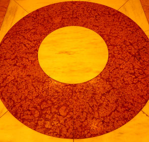 floor patterns1: colourful circular centerpiece floor covering