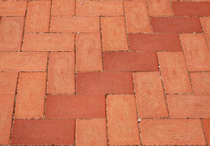 patterned paving3: pavement area with patterned surfaces