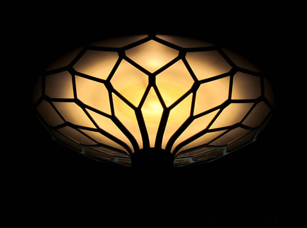 aglow in the dark1: the glow of a stylish interior light
