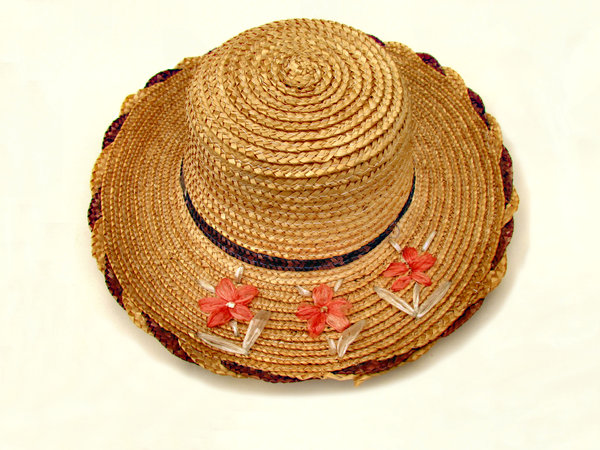 summer hat2: woman's protective straw summer hat