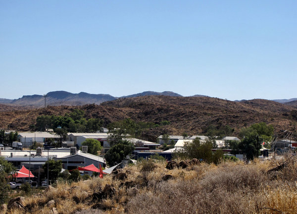 A town like Alice4: looking out over the central Australian township of Alice Springs