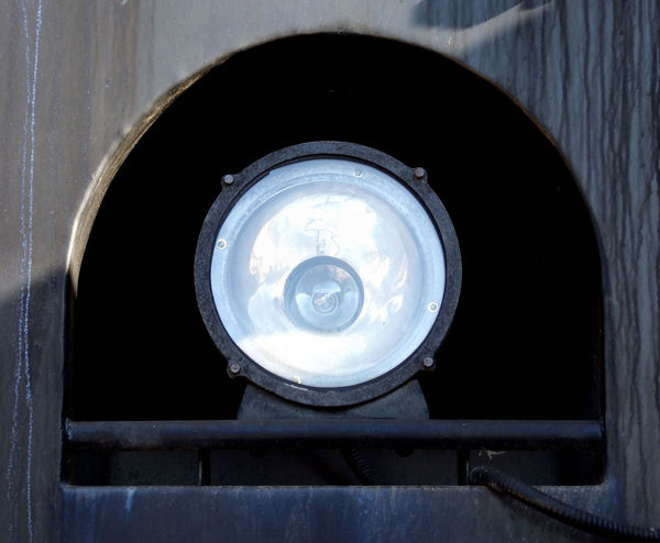 light angles1: large locomotive headlight
