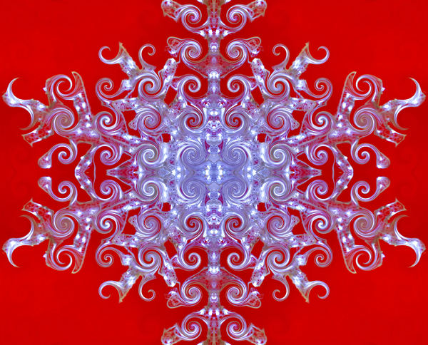 Chinese light swirls: abstract Chinese swirling light background, kaleidoscopic patterns,