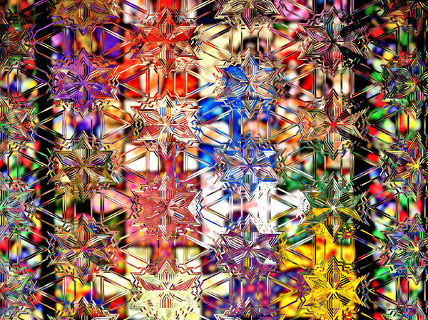 star crystal collection8: abstract background, texture, patterns and perspectives