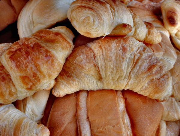 breakfast abundance5: pre-Christmas function breakfast - croissants