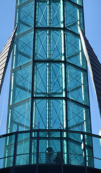 glass tower10b: city glass tower