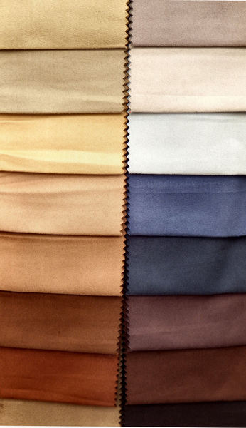 suede swatches2: sueded fabric sample swatches