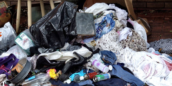 unwanted1: unwanted personal & household items dumped for roadside collection