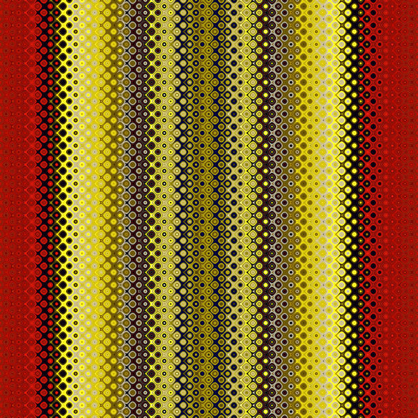 between the red & yellow7: abstract red & yellow plus lined background, texture, patterns and perspectives