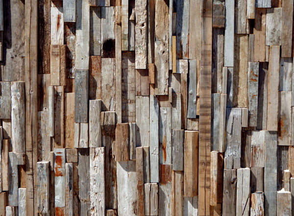 rough textured wood wall1: odd shaped and sized rough textured wooden wall pieces
