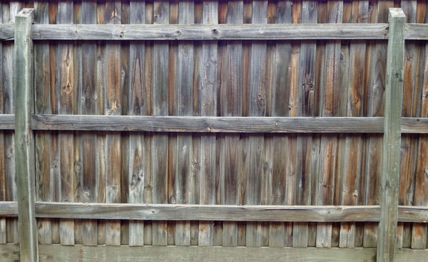 fencing textures1: wood grain textures on wooden fence