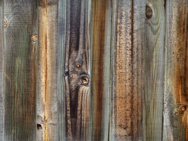 fencing textures5: wood grain textures on wooden fence