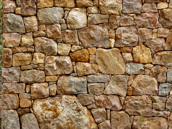 rock wall4: free standing dry stone wall