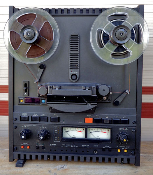 before cassettes1: high quality analog magnetic tape recording