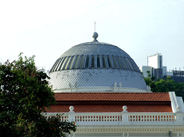domed architecture6: colonial domed architecture in Singapore - national museum