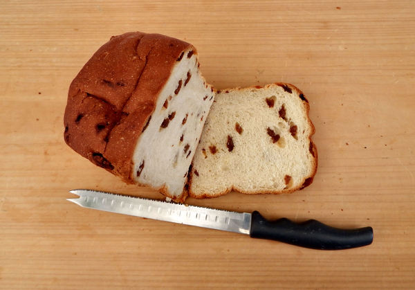 on the bread board7: white bread fruit loaf variety