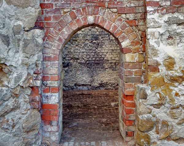 historic lime kiln remains4: remaining ruins of historic lime kilns now in secluded park