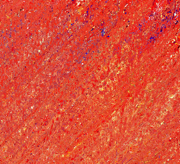 blue tinged red marbling: abstract red & blue marbling background, texture, patterns and perspectives