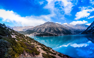 Nature in Kazakhstan: Big Almaty Lake