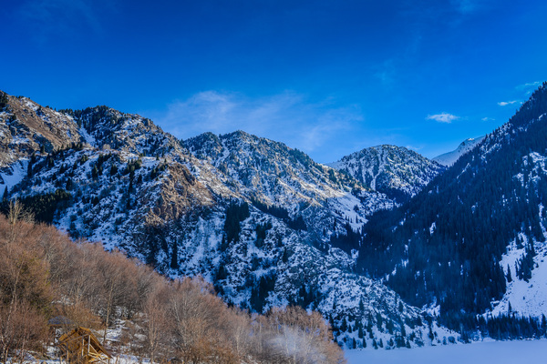 Winter mountains: Winter Landscape