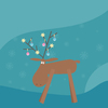 Christmas reindeer: no description