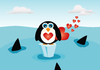 Valentine Penguin: no description