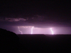 lightning over grand canyon 3: rare shots of a thunderstorm over the grand canyon