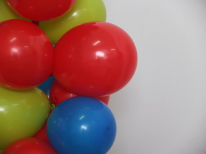 party balloons: balloon bouquet