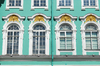 Palace Windows: Winter Palace in Saint-Petersburg, Russia