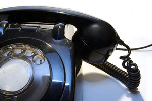 Old telephone 6: ...