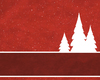 Christmas Tree Banner 2: Abstract Christmas tree banner