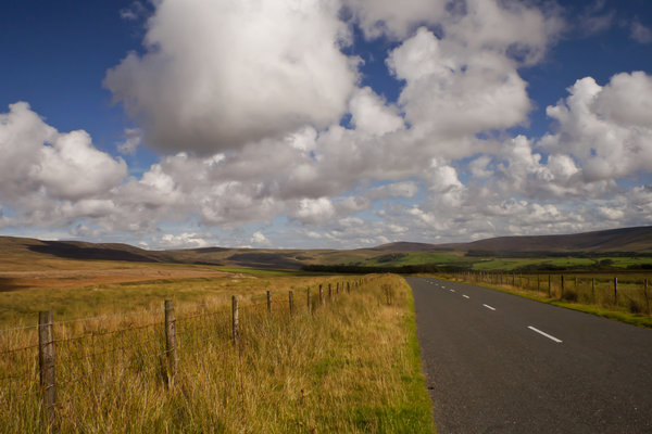 Bowland Fells: Some views of the Trough of Bowland, near Garstang, UK.