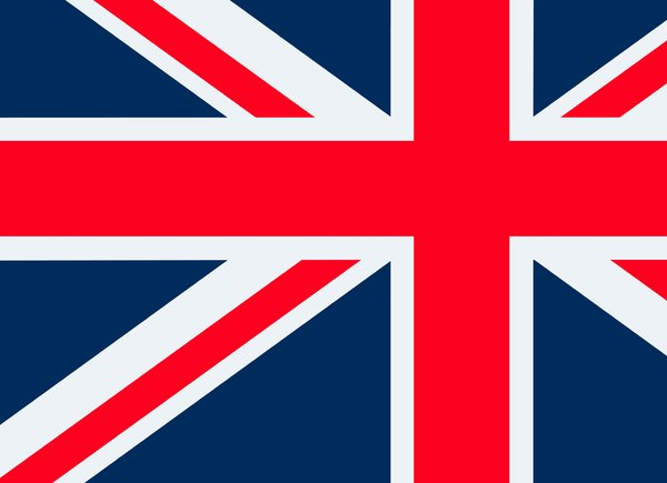 Union Flag 2: The union flag of Great Britain.  Abstract.
