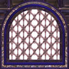 Gothic Window Arched: A 3D fantasy gothic styled window in royal shades. Can be used as a frame as well.