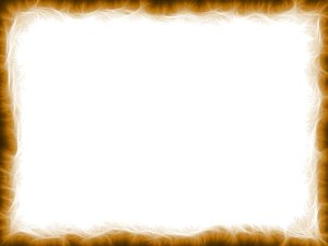 Grunge Fractal Border: Abstract fractal texture made into a border, in sepia tones. Useful background or frame.
