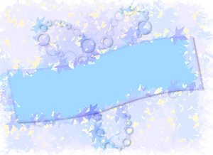 Banner Abstract 3: Patchy, messy girly grunge banner. What do you want to say?