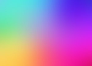 Rainbow Gradient Background: A colourful background or fill in a gradient of rainbow colours.