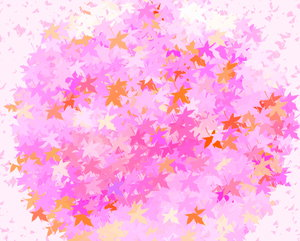 Coloured Leaves 3: Great backgrounds of coloured leaves. Excellent texture or fill, and can represent autumn or fall, spring, summer or the outdoors, etc.