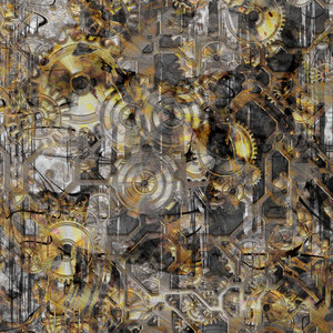 Clockwork 7 Abstract: An abstract of cogs and gears which illustrates industry, the industrial revolution, or even Big Brother. None of my images may be used outside RGB's terms of use without my express permission. You may prefer: http://www.rgbstock.com/photo/orARmXI/Industry+Meets+Orb+2