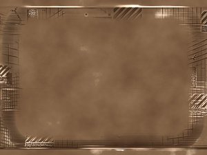 Bronze Plaque 1: A futuristic grungy bronze plaque. Great banner, background, texture or element.