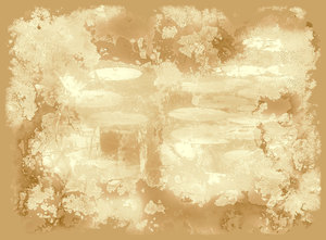 Grungy Backdrop 2: A grungy backdrop in sepia shades. Useful texture or frame as well.