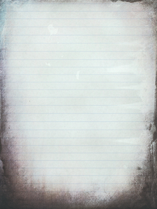 Grungy Lined Paper 3: A stained, grungy piece of lined paper. Great background, texture or fill. You may like: http://www.rgbstock.com/photo/nOMzg2c/ or http://www.rgbstock.com/photo/nOMzOmq/