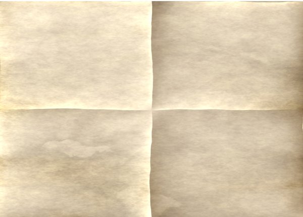 Paper 1: Old paper suitable for backgrounds, letters, pirate maps, announcements, notices, art, etc.