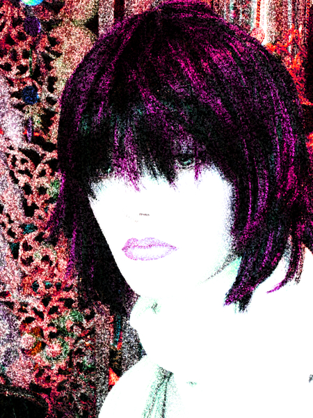Grunge Portrait Woman 2: A portrait of a woman with a great grunge effect. Made from a public domain image of a mannequin courtesy Dennis Hill.